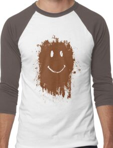 Smiley Mud Face Men's Baseball ¾ T-Shirt