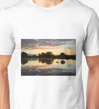 Landscape with a Swan Unisex T-Shirt