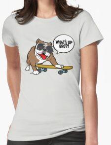 Cool english bulldog on board T-Shirt