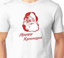 Happy Kwanzaa Christmas Santa Claus Unisex T-Shirt