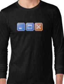Minimize Maximize Close Computer Internet Long Sleeve T-Shirt