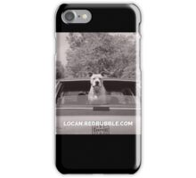 pit bull bye bye iPhone Case/Skin