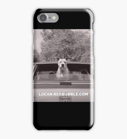 pit bull bye bye iPhone Case/Skin