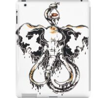 The elephant and his brand new goldfish iPad Case/Skin