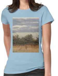 tree line  Womens Fitted T-Shirt