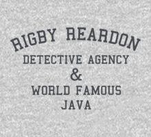 Rigby Reardon Detective Agency T-Shirt