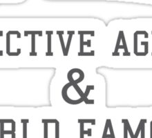 Rigby Reardon Detective Agency Sticker