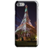 Tour Eiffel - cop21 - 001 iPhone Case/Skin