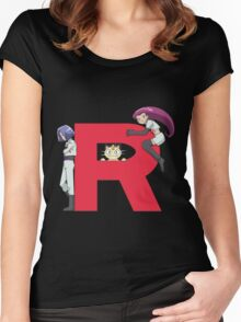 Team Rocket - Pokémon Women's Fitted Scoop T-Shirt