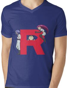 Team Rocket - Pokémon Mens V-Neck T-Shirt