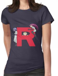 Team Rocket - Pokémon Womens Fitted T-Shirt
