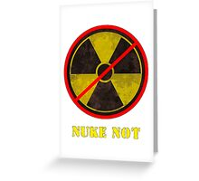 Nuke Not Open Background Big Greeting Card