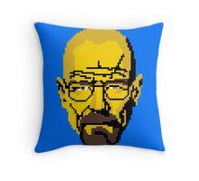 Breaking pixels Throw Pillow