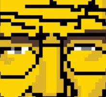 Breaking pixels Sticker