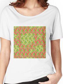 Big fresh green apple Women's Relaxed Fit T-Shirt