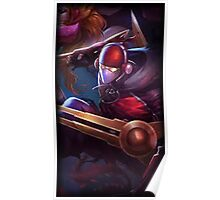 Zed SKT T1 / League of Legends Poster
