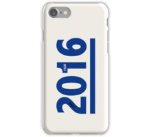 Cubs 2016 iPhone Case/Skin
