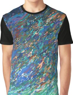 Surfacing Scarf - Ocean Wave Graphic T-Shirt