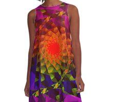 fractal dawn A-Line Dress