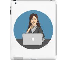 Businesslady iPad Case/Skin