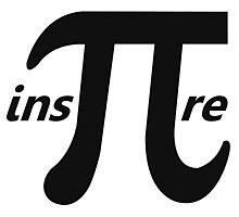 Inspire Inspirational Pi Symbol Photographic Print
