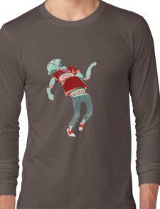 Run Zombie Run Long Sleeve T-Shirt