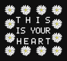 This is your heart // Daisy shirt (colored) by alquimie