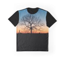 Sunset on the strong nature Graphic T-Shirt