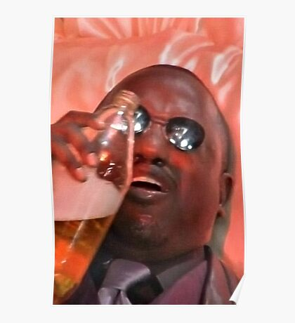 morpheus drinking a 40 Poster