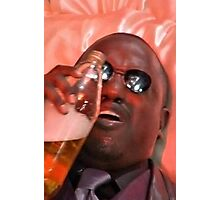 morpheus drinking a 40 Photographic Print