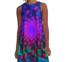 fractal starlet A-Line Dress