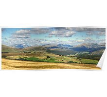 The Duddon Valley and The Scafell Range Poster
