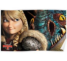 How to Train Your Dragon 4 Poster