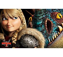 How to Train Your Dragon 4 Photographic Print