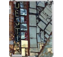 Questions Hard To Answer iPad Case/Skin
