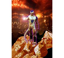 Aliens Frieza Perfect Form Photographic Print