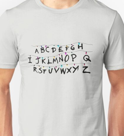 Stranger Things Retro Lights Unisex T-Shirt