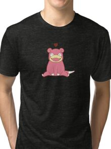 Slowpoke Love Tri-blend T-Shirt