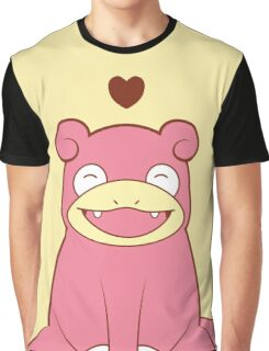 Slowpoke Love Graphic T-Shirt