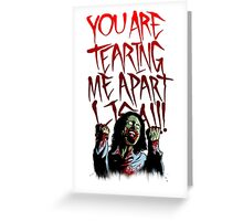 zommby wiseau Greeting Card