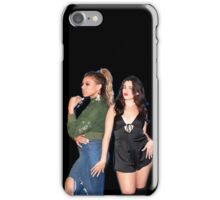 Lauren Jauregui & Dinah Jane (black background) iPhone Case/Skin