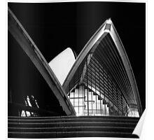 Sydney Opera House At Night Poster