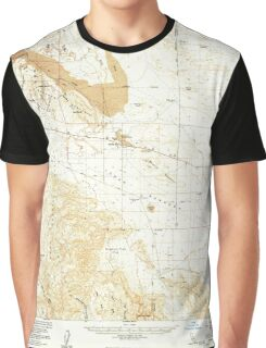 USGS TOPO Map California CA Borrego Mountain 296877 1960 62500 geo Graphic T-Shirt
