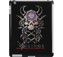 "Vikings ""Where there is a will, there is a way. iPad Case/Skin"
