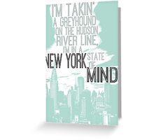 Billy Joel New York Greeting Card