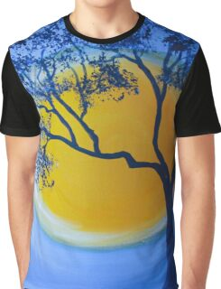 Blue Serenity Graphic T-Shirt