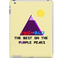 Red-Blu: The Best on the Purple Peaks iPad Case/Skin