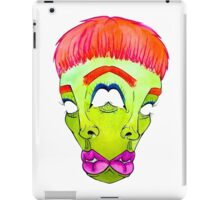 The Two-Faced Alien iPad Case/Skin