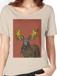 Moose Women's Relaxed Fit T-Shirt