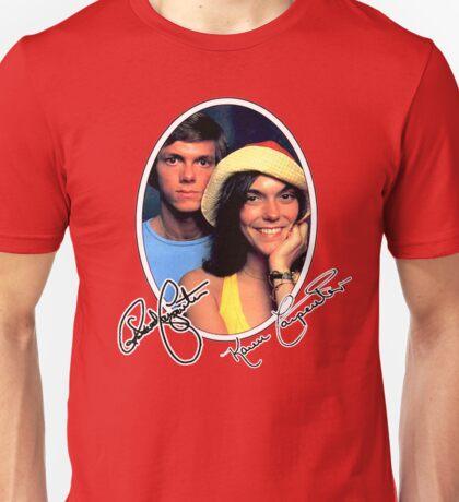 Carpenters, Karen and Richard 1974 design Unisex T-Shirt